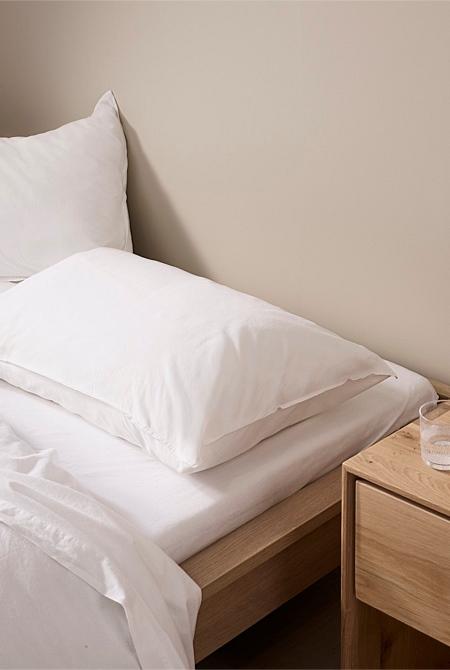 Brae King Fitted Sheet Sheets, King Fitted Sheet On Queen Bed