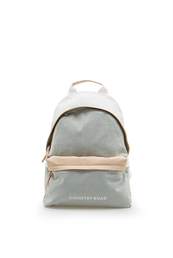 Chambray Country Road Backpack