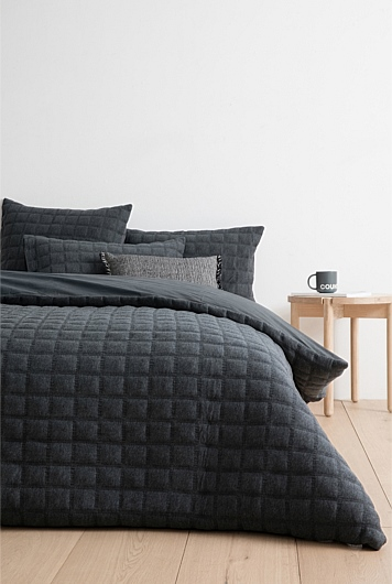 Tyde Queen Quilt Cover   Tuggl