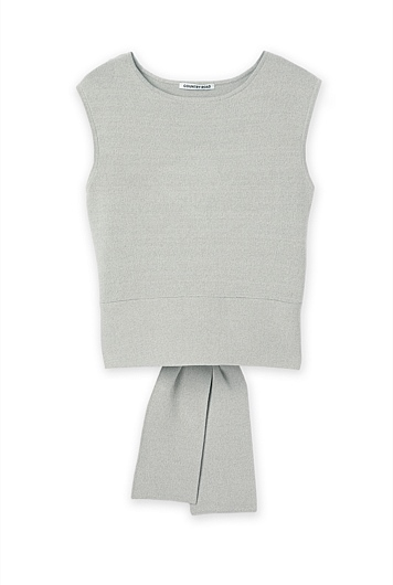 Stretch Tie Knit Tank