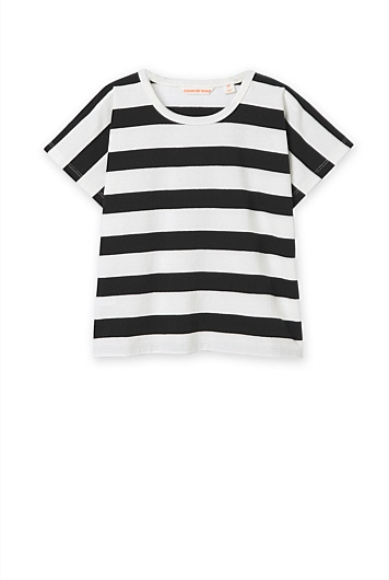 Wide Stripe T-Shirt