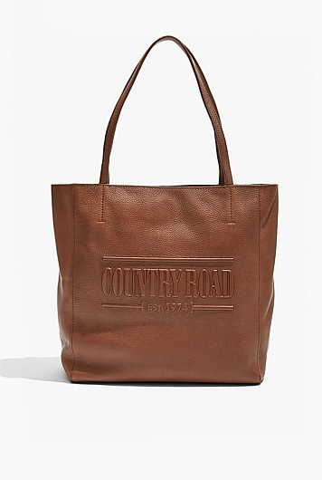 Heritage Leather Shopper