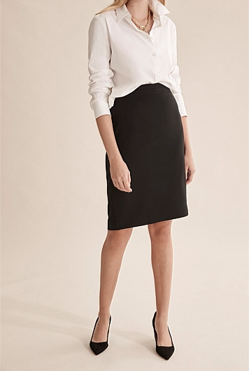 Darted Pencil Skirt