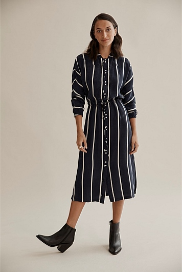 41f61edf4d Stripe Shirt Dress