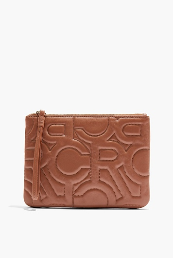 CR Large Quilted Pouch