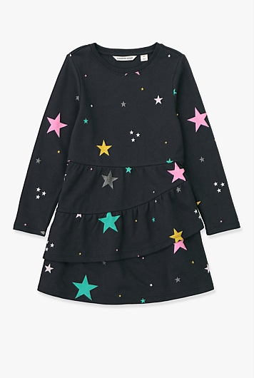Star Sweat Dress