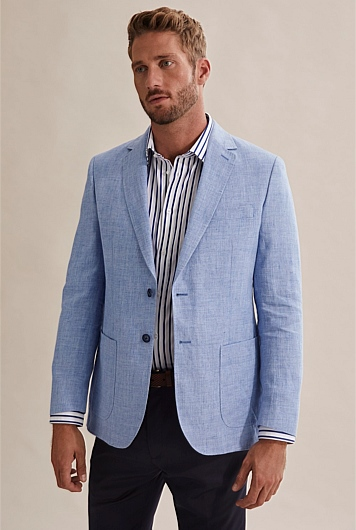 Regular Chambray Blazer
