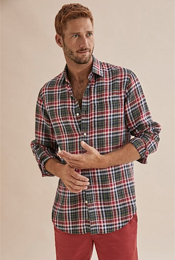 Regular Tonal Check Shirt