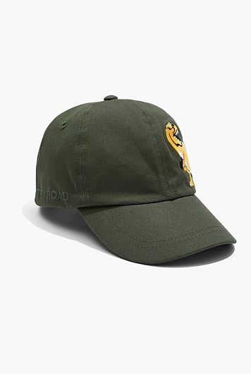 Embroidered Dinosaur Cap