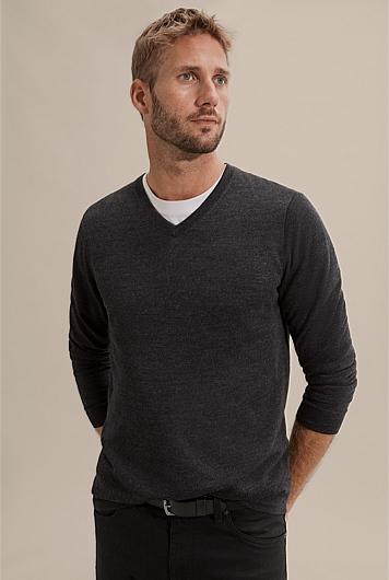 Verified Merino V-Neck Knit