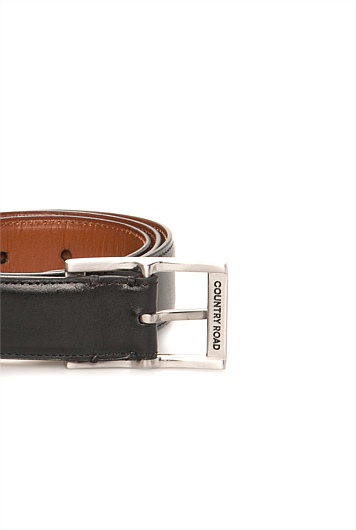 Stitched Edge Career Belt