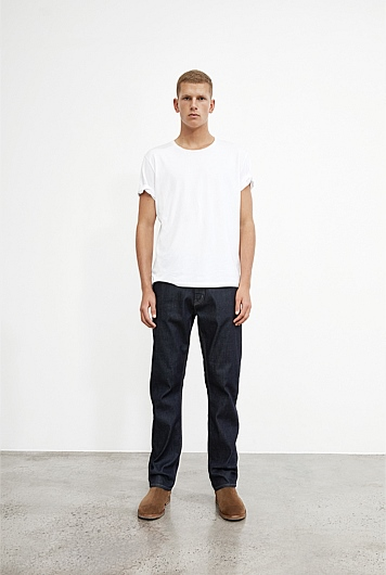 Standard Rich Raw Denim Jean