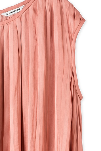 Soft Pleated Top