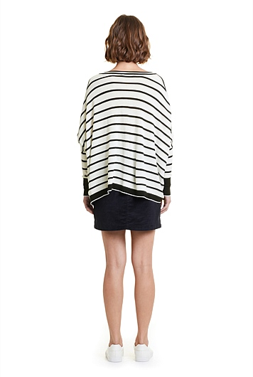 Stripe Oversize Knit