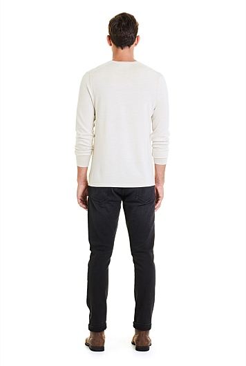 Traceable Merino Crew Neck Knit