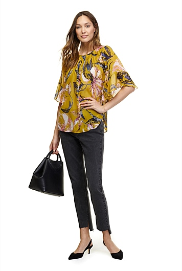 Flute Sleeve Blouse at Country Road in Norwood, SA | Tuggl