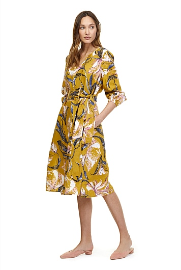 Print Tie Waist Dress at Country Road in Norwood, SA | Tuggl
