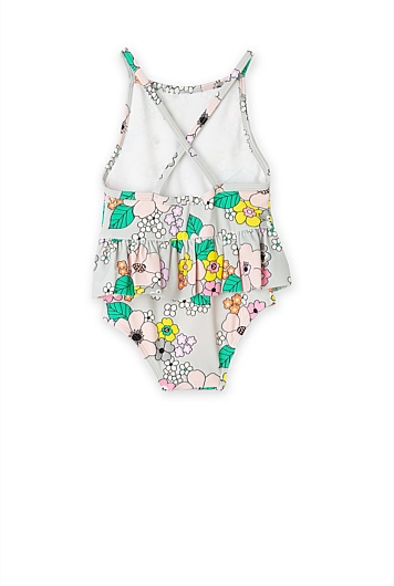 Multi Floral Bather