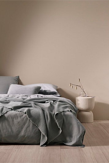 Brae Waffle Bed Cover