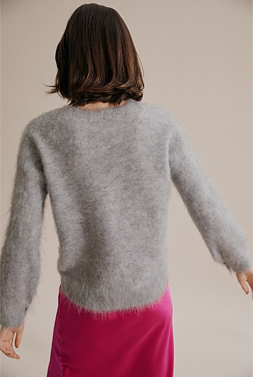 Brushed Fluffy Sweater