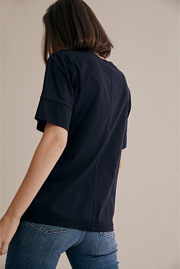 Structured Fashion T-Shirt