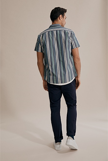 Regular Multi Stripe Shirt