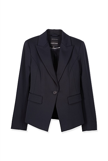 Double Cloth Blazer