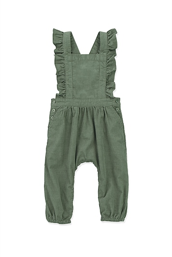 Frill Cord Jumpsuit
