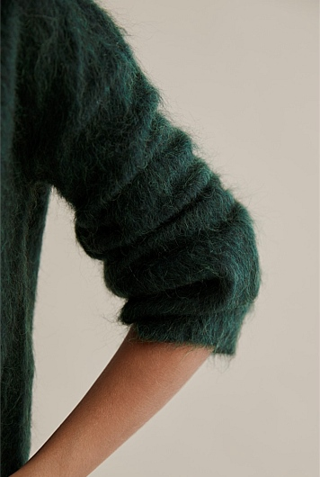 Brushed Fluffy Knit