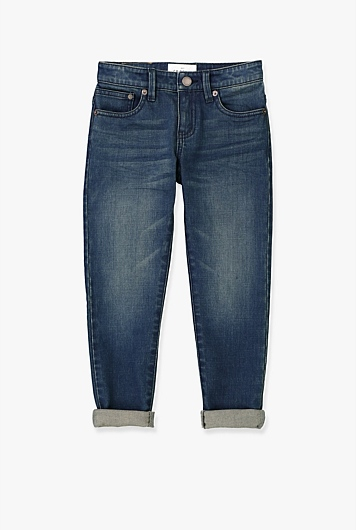Cuffed Denim Jean