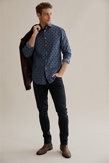 Slim Medallion Shirt