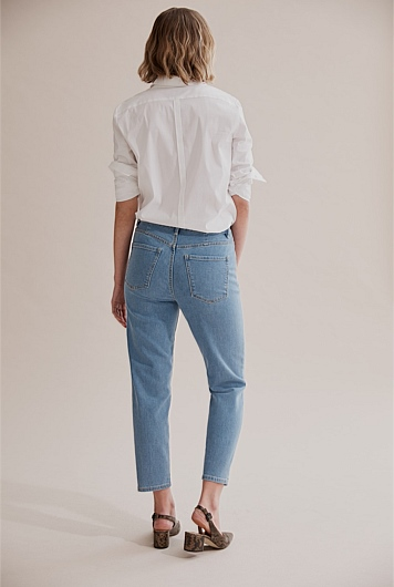 Tapered Crop Jean