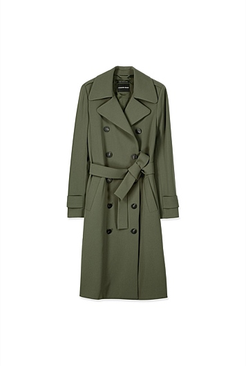 Tailored Trench Coat