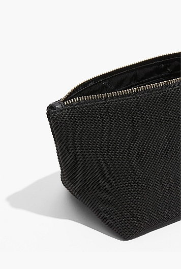 Fly Knit Tri Cosmetic Bag