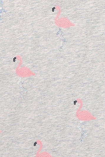 Sequin Flamingo T-Shirt