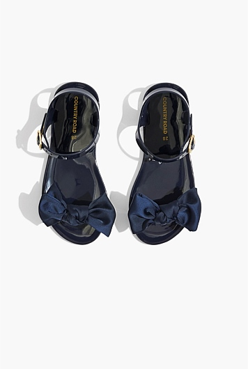 Bow Jelly Sandal