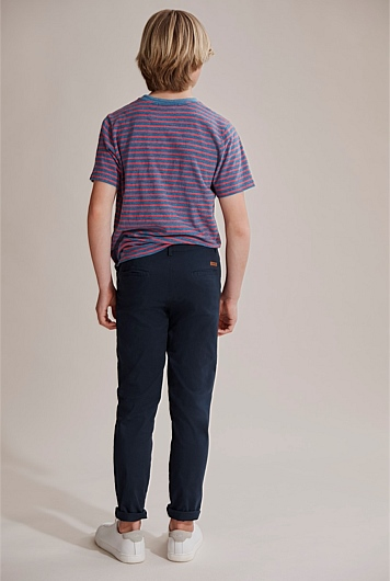 Indigo Stripe T-Shirt