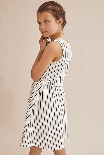 Stripe Tie Dress