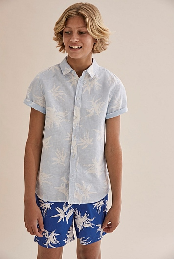 Palm Burst Short Sleeve Shirt