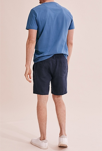 Linen Drawcord Short