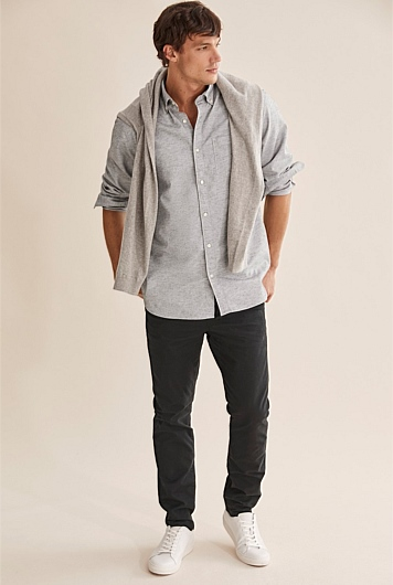 Regular Textured Shirt