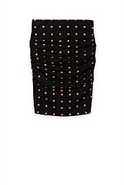 Printed Body Con Skirt