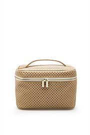 Perforated Large Cosmetic Case