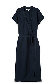 Relaxed Wrap Dress