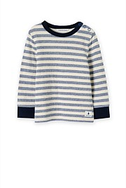 Double Faced Stripe T-Shirt