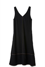 Profile Stitch Slip Dress