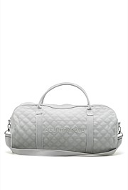 Quilted Logo Tote