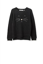 Cat Face Knit