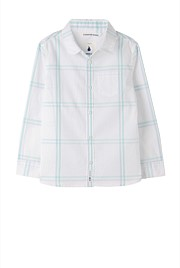 Double Windowpane Shirt