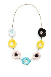 Multi Floral Necklace